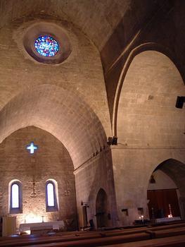 Valbonne - Abbaye Sainte-Marie - Choeur et bras droit du transept