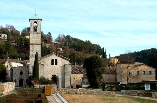 Valbonne - Abbaye Sainte-Marie - Ensemble