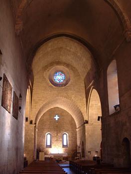 Valbonne - Abbaye Sainte-Marie - Nef