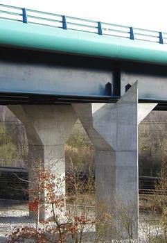 Amiens - Rocade Sud - Viaduc de l'Avre - Une pile