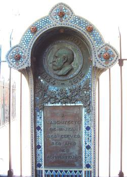 Anatole de BaudotMonument an der Kirche Saint-Jean in Montmartre