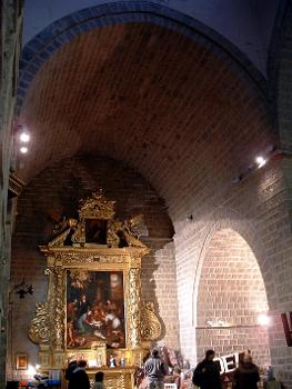 Cathédrale d'Antibes. Transept Nord