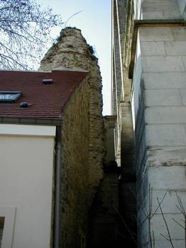 Aqueduc de la Vanne, Arcueil.Reste de l'aqueduc romain