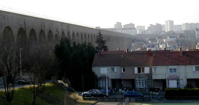 Aqueduc de la Vanne, Arcueil