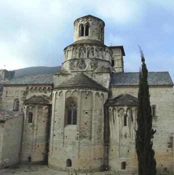 Cruas - Ancienne abbatiale bénédictine Sainte-Marie - Chevet