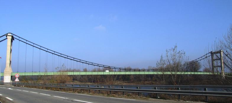 Le Teil - RN102 - Pont sur le Rhône