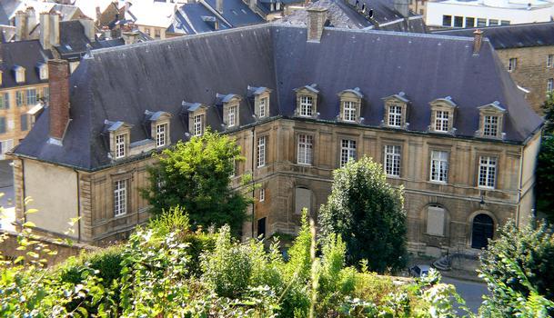 Sedan - Le Château-Bas vu du Château-haut