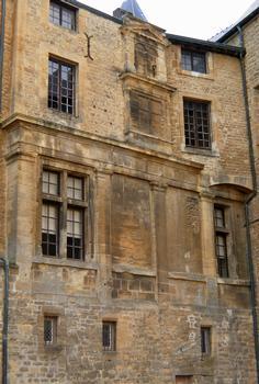 Château-fort de Sedan - Le pavillon Renaissance englobé dans les logis princiers