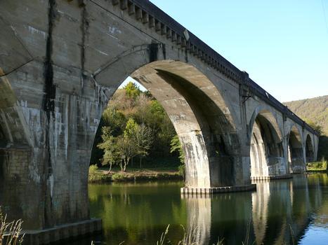 Eisenbahnbrücke Anchamps