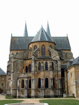 Mouzon - Abbaye Notre-Dame - Abbatiale - Chevet