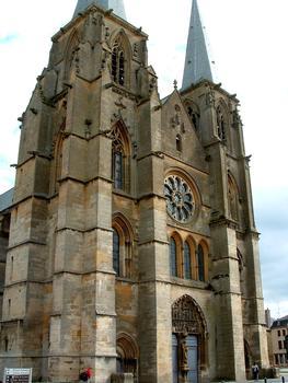 Mouzon - Abbaye Notre-Dame - Abbatiale - Façade occidentale