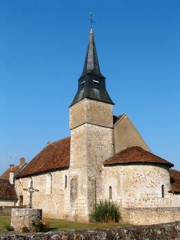 Areines - Eglise Notre-Dame - Vue de l'abside