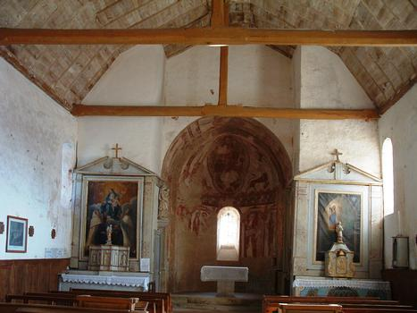 Areines - Eglise Notre-Dame - Nef et abside