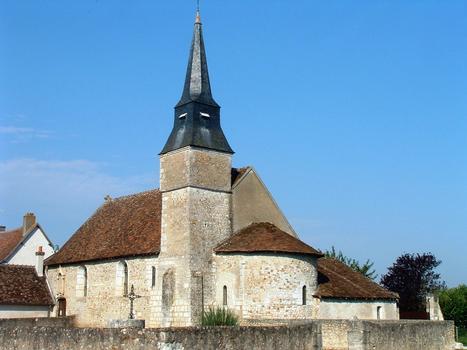 Areines - Eglise Notre-Dame - Ensemble