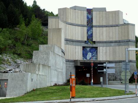 Tunnel de Puymorens - Entrée nord
