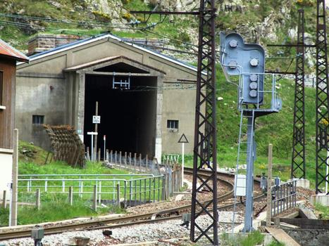 Tunnel ferroviaire de Puymorens - Entrée nord