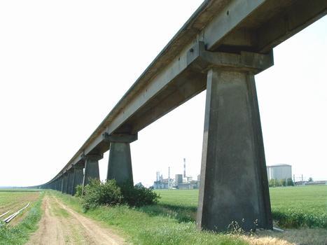 Aérotrain test track, Artenay