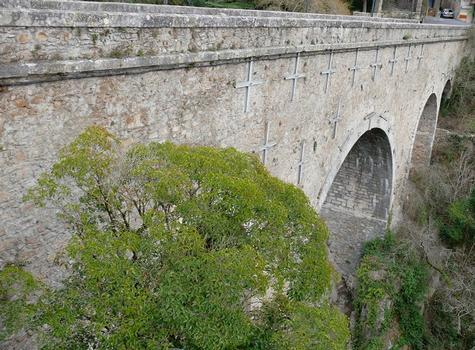 Montolieu - Pont de Saissac vers l'aval