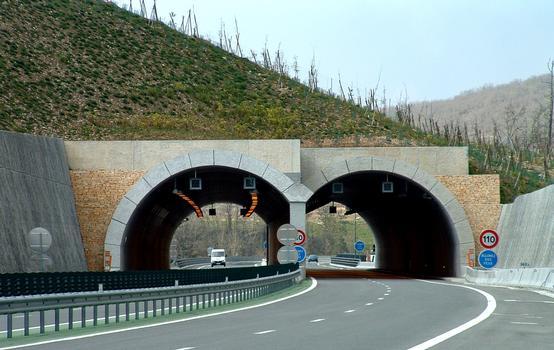 Autoroute A20Garenne Tunnel & beginning of Lot Viaduct