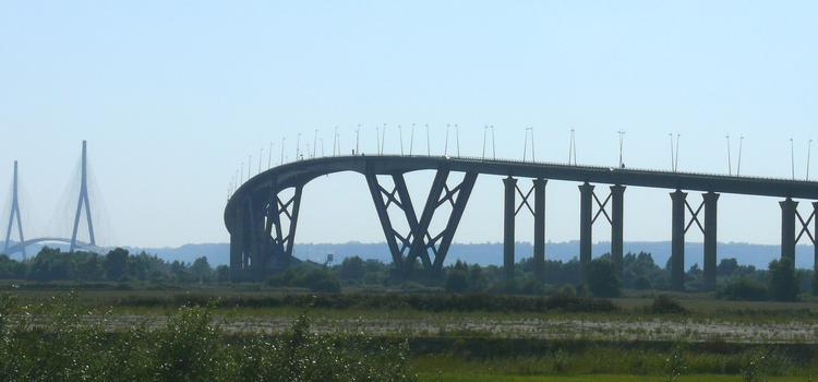 Grand Canal Bridge at Le Havre & Normandy Bridge