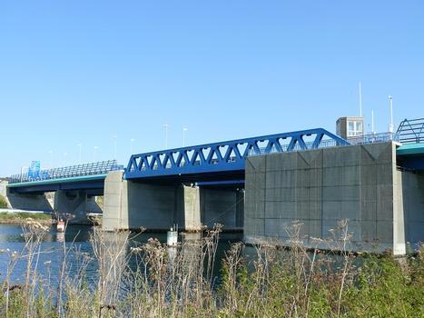 Autoroute A29 - Pont sur le canal de Tancarville