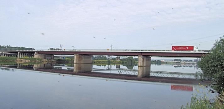 Autoroute A31 - Nouveau pont de Richemont - Franchissement de la Moselle
