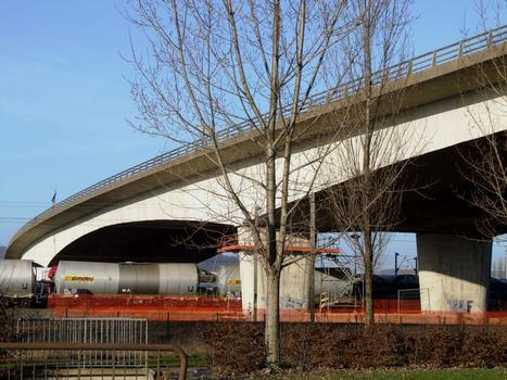 Autoroute A4 - Viaduc de Woippy