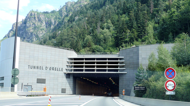 Autoroute A43 - Tunnel d'Orelle
