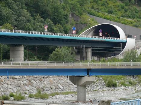 Autoroute A43 - Tunnel d'Orelle - Côté Modane