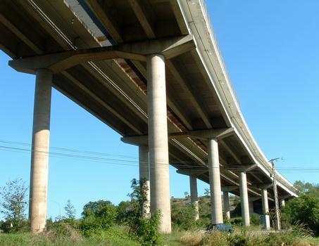 Autoroute A6Pont-d'Ouche Viaduct