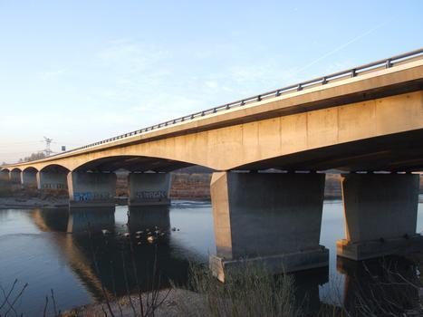 Autoroute A7 - Bonpas Viaduct