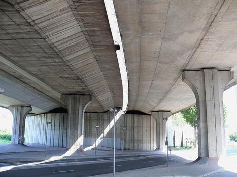 Autoroute A86 - Saint-Denis - Pont du boulevard de la Libération