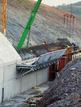 Autoroute A89 - Tunnel de la Crête