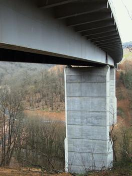 Autoroute A89 - Viaduc de Ribeyrol