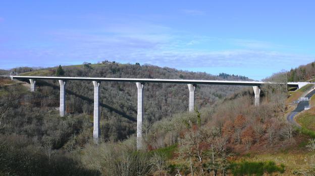 Autoroute A89 - Viaduc de l'Elle