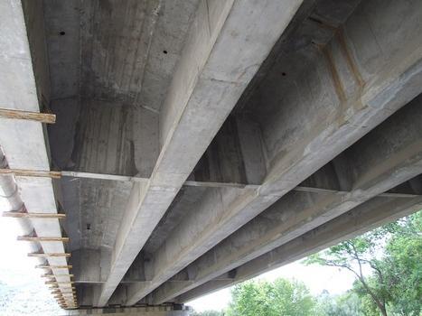 Autoroute A9 - Le Boulou - Viaduc du Tech