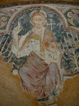 Crypte - Fresque du Christ en Majesté