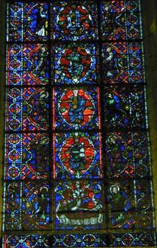 Chapelle de la Vierge - Vitrail de l'arbre de Jessé
