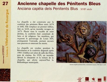 Villefranche-de-Rouergue - Chapelle des Pénitents Bleus