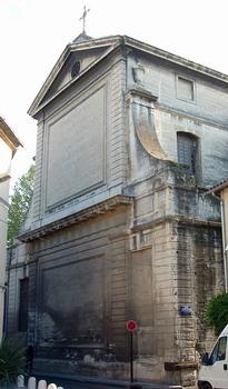Avignon - Chapelle Saint-Charles-de-la-Croix (ancien séminaire), rue Saint-Charles - Chevet