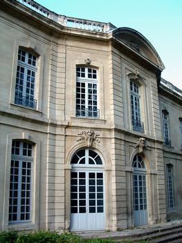 Avignon - Hôtel de Caumont - Façade sur jardin