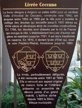 Livrée Ceccano, Avignon.