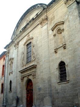 Avignon - Noviciat des Jésuites Saint-Louis - Chapelle - Façade
