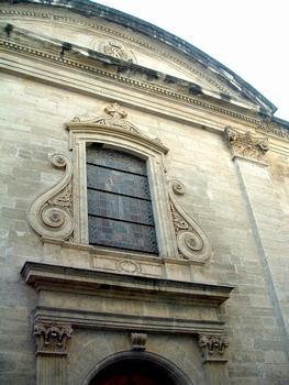 Avignon - Noviciat des Jésuites Saint-Louis - Chapelle - Façade - Décoration