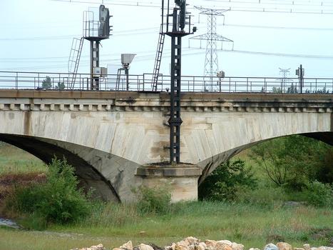 Eisenbahnbrücke Rognonas