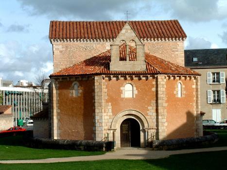 Baptistère Saint-Jean Entrée
