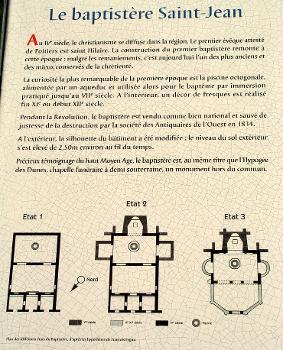 Baptistère Saint-Jean Panneau d'information