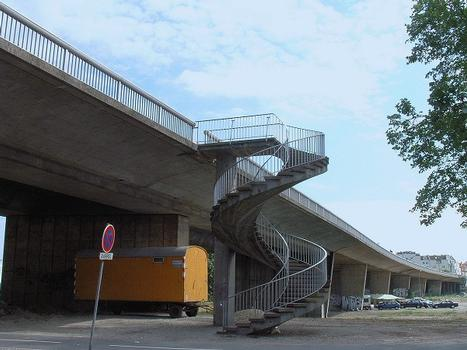 Strasbourg - Pont Winston Churchill - Avant démolition