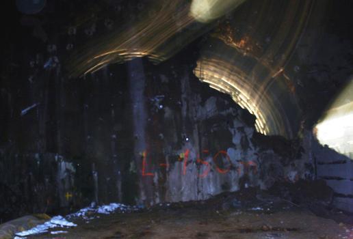 Tunnel de Schirmeck - Début du percement du tunnel