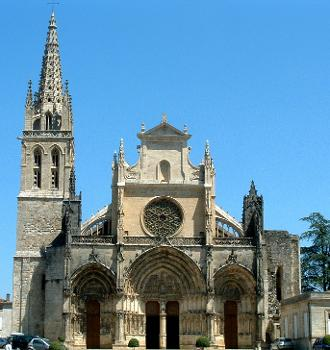 Bazas - Cathédrale - Façade occidentale